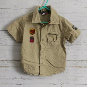 Safari / Camp Button-down shirt